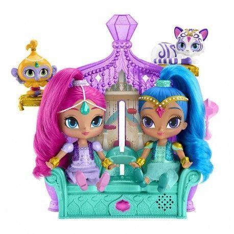 Shimmer And Shine Throne Magical Surprises