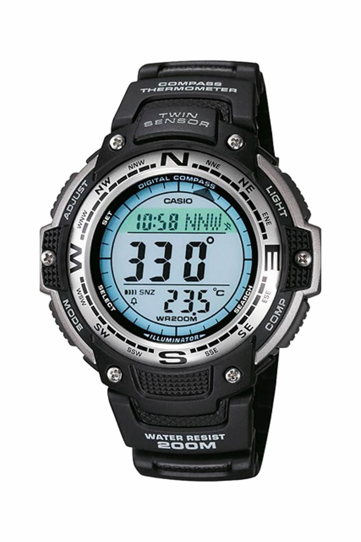 Casio SGW-100 Outgear Male Wristwatch, %100 Original , Digital Watch Quartz 200 Meters Waterproof Compass Thermometer