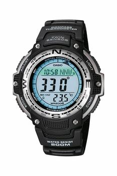 Casio SGW-100 Outgear Male Wristwatch, %100 Original , Digital Watch Quartz 200 Meters Waterproof Compass Thermometer цена 2017