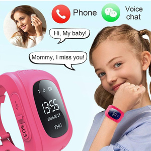 2020 New Kids Smart Watch for children call watch GPS Anti Lost Children Tracker SOS For Android IOS Monitoring Positioning Baby