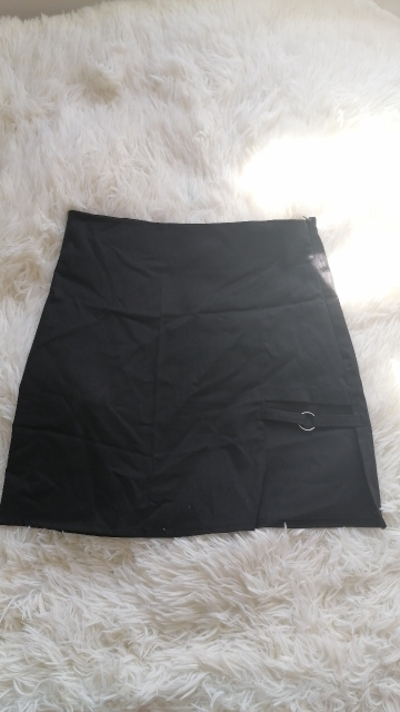 Mini Skirt with strap E-girl photo review