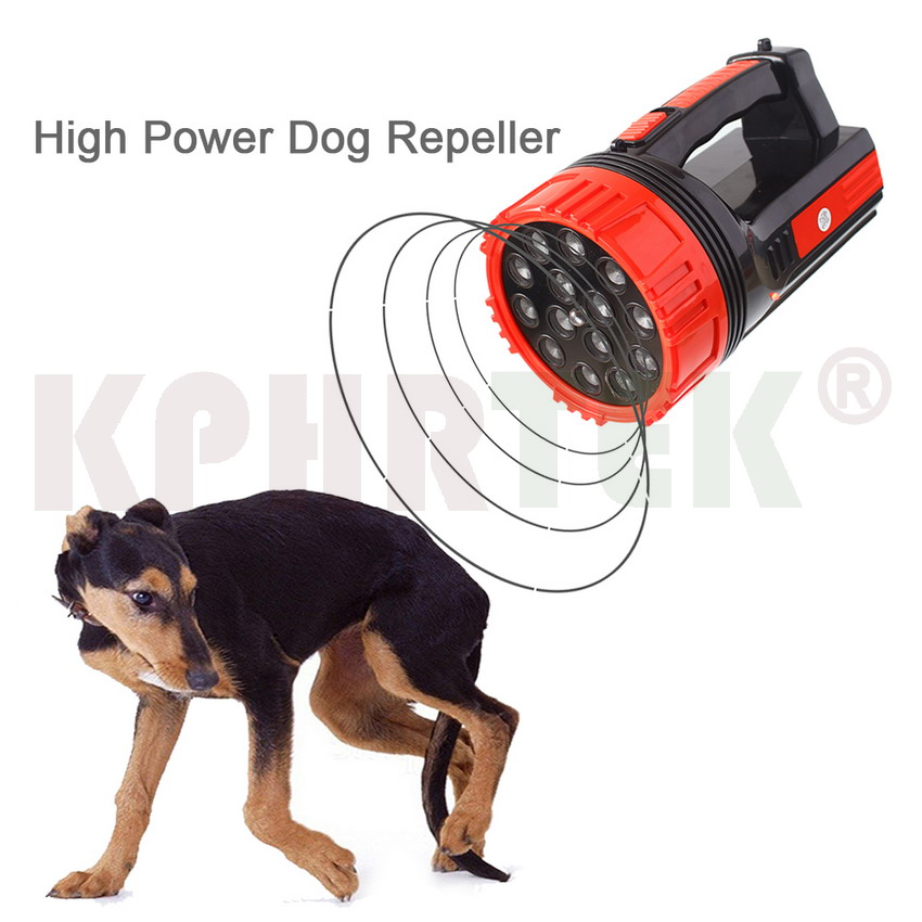 High Power 14 Heads Strong Ultrasonic Dog Cat Chaser Stops Aminal Attacks Deterrent Repeller 100g2280