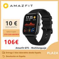 Amazfit GTS inteligentny zegarek (reloj inteligente mujer hombre GPS bluetooth deporte zewnętrzny android ios reloj xiaomi) [wersja globalna]