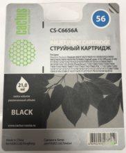 Картридж CACTUS CS-C6656A, №56, черный