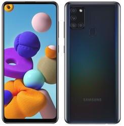 Samsung Galaxy A21S A217 Dual Sim 3 ГБ 32 ГБ Черный смартфон мобильный телефон