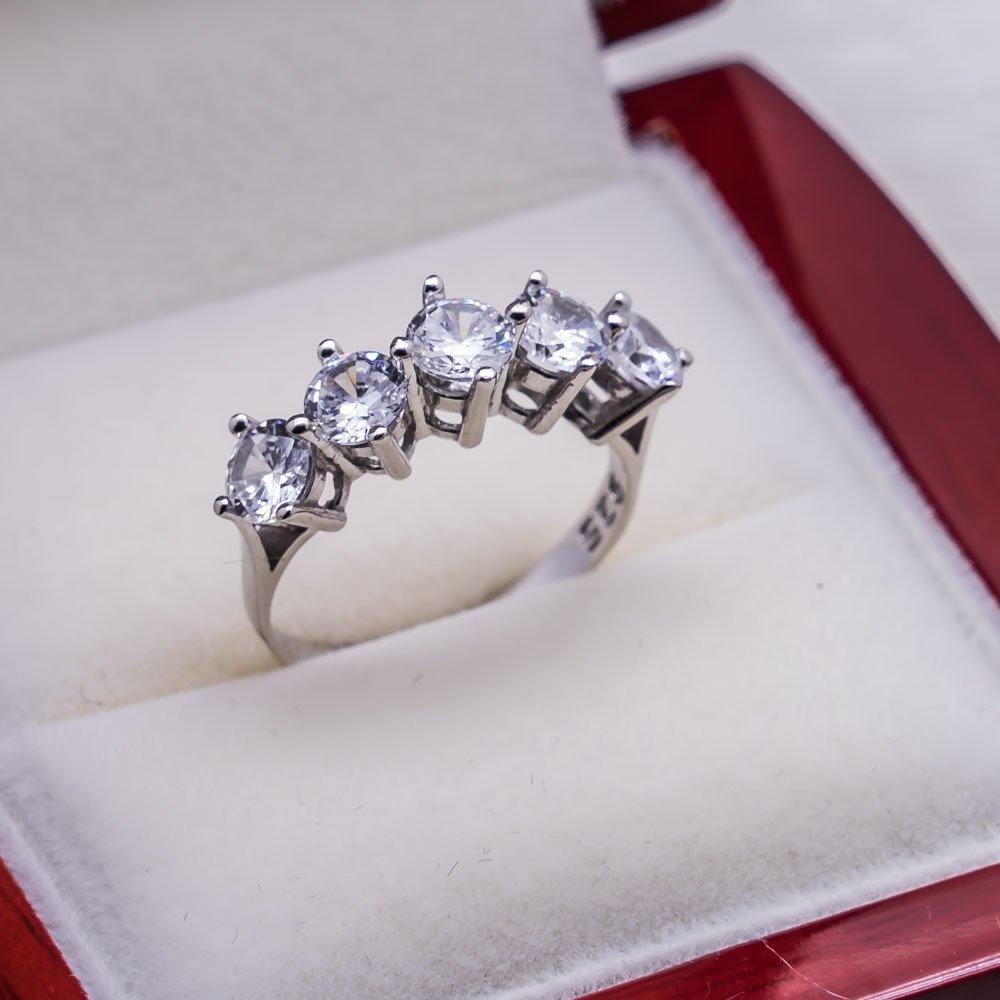 925 sterling Silver Dibs Lady Ring Model 14()