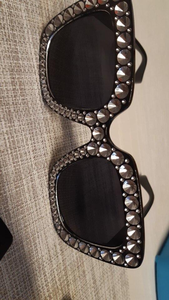 cristal rose - Lunettes de soleil vintage