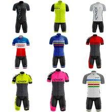 EKOI Pro team cycling jersey wear custom men cycling clothing downhill ropa ciclismo Bike suit bicicleta bib short new style цена в Москве и Питере