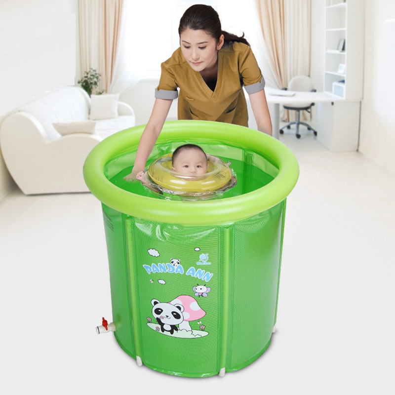 Children's Pool Round 80 х85 Cm, Complete With Balls, Inflatable Circle And Pump, Item No. 950033