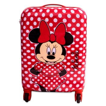 Cabin suitcase rigid Minnie M, rolley 4 wheels 48 cm with free shipping a Peninsula log cabin suitcase man spider dimensions 55x38x20cm free shipping