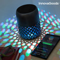 InnovaGoods Mandalamp Dekorative Lampe mit Lautsprecher auf