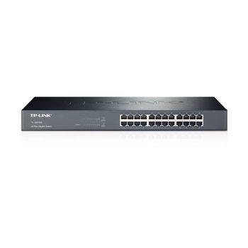 """Cabinet Switch TP-LINK TL-SG1024 48P Gigabit 1 U 19"""" Metal"""