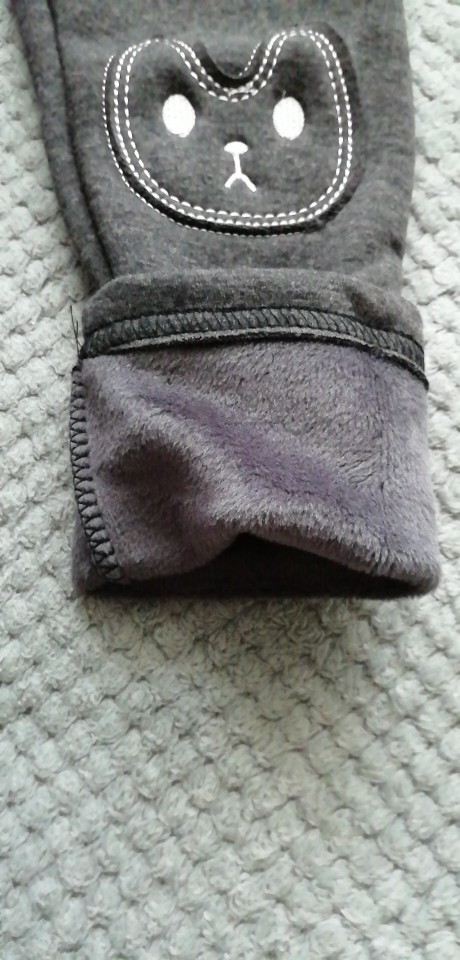 Cute Rabbit Printed Girls Child Pants Winter Autumn Bottoms Kids Baby Toddler Inside Warm Fleece Leggings Trousers|children pants winter|children pants|leggings trousers - AliExpress
