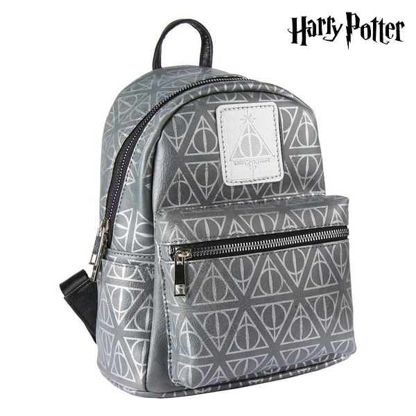 Casual Backpack Harry Potter 72823 Grey