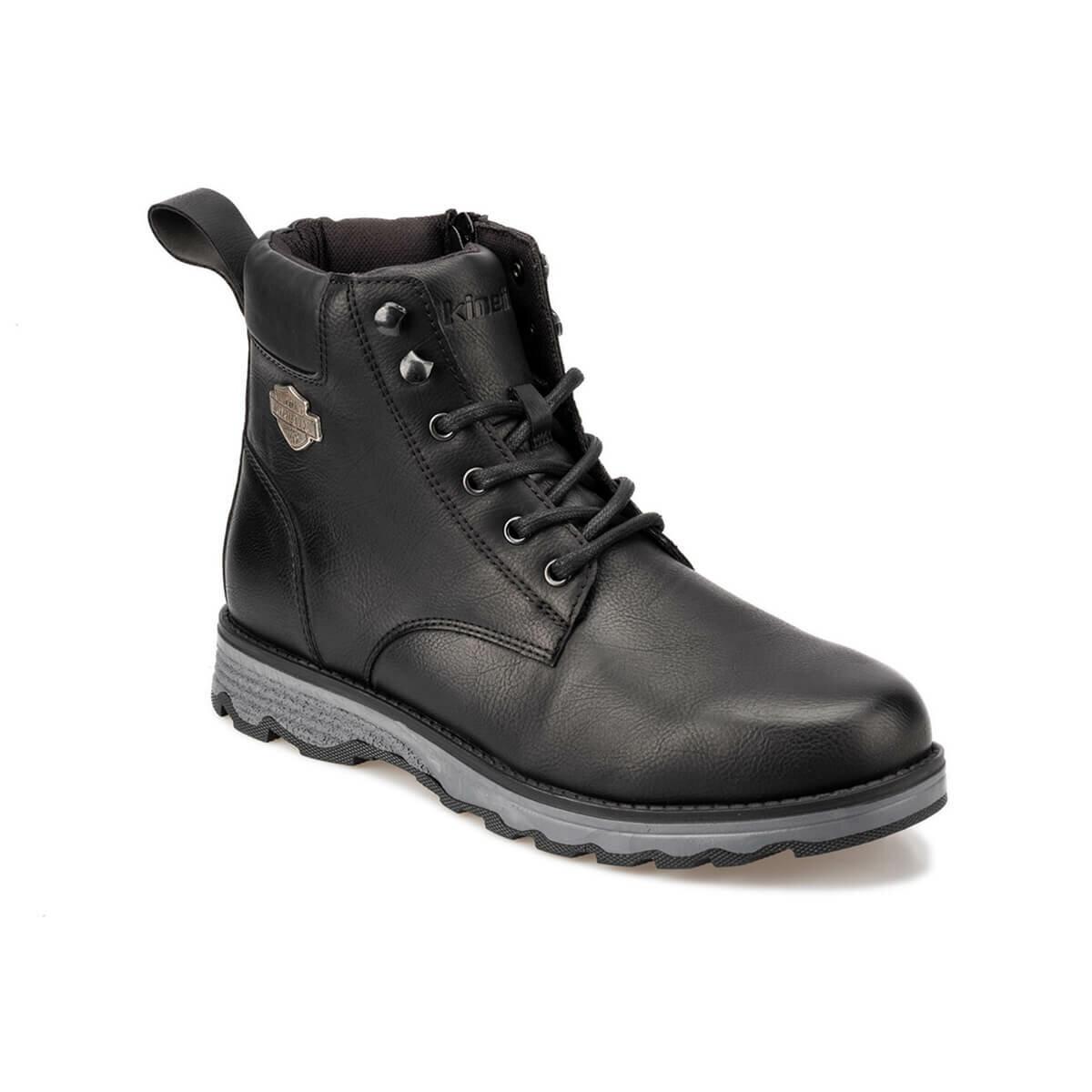 FLO HEGEL 9PR Black Men Boots KINETIX