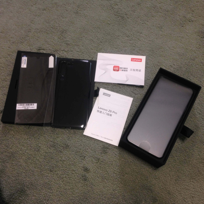 Lenovo Z6 Pro Smartphone Global Rom 8GB 128GB Snapdragon 855 Octa Core Mobile Phone 2340*1080 OLED Screen 48MP AI 4 Camera Cellphones    - AliExpress
