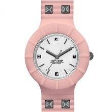 Женские часы в стиле хип-хоп, серебристый, розовый, панк, женские, 32 мм, HWU0802