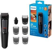 Philips MG3720 Gesicht und Haar Elektrischen Rasierer Clipper Rasierer 7-in-1 Männer Männlich Wasserdicht Waschbar Abnehmbare Präzision bart Trimmer