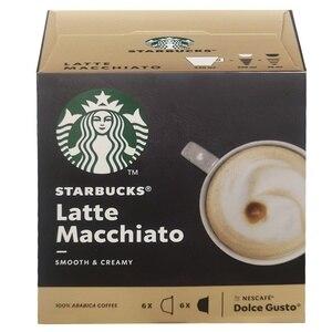 Latte Macchiato STARBUCKS®6 6 compatible capsules Dolce Gusto.