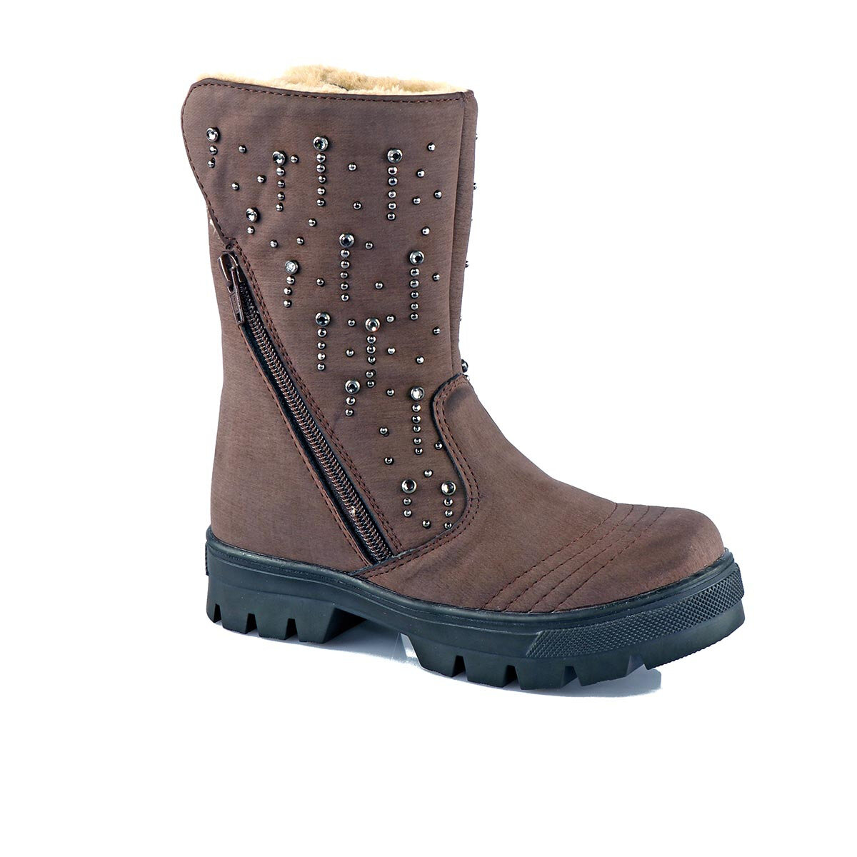 FLO 942.V. 566 FILET BOOT Brown Female Child Boots Vicco