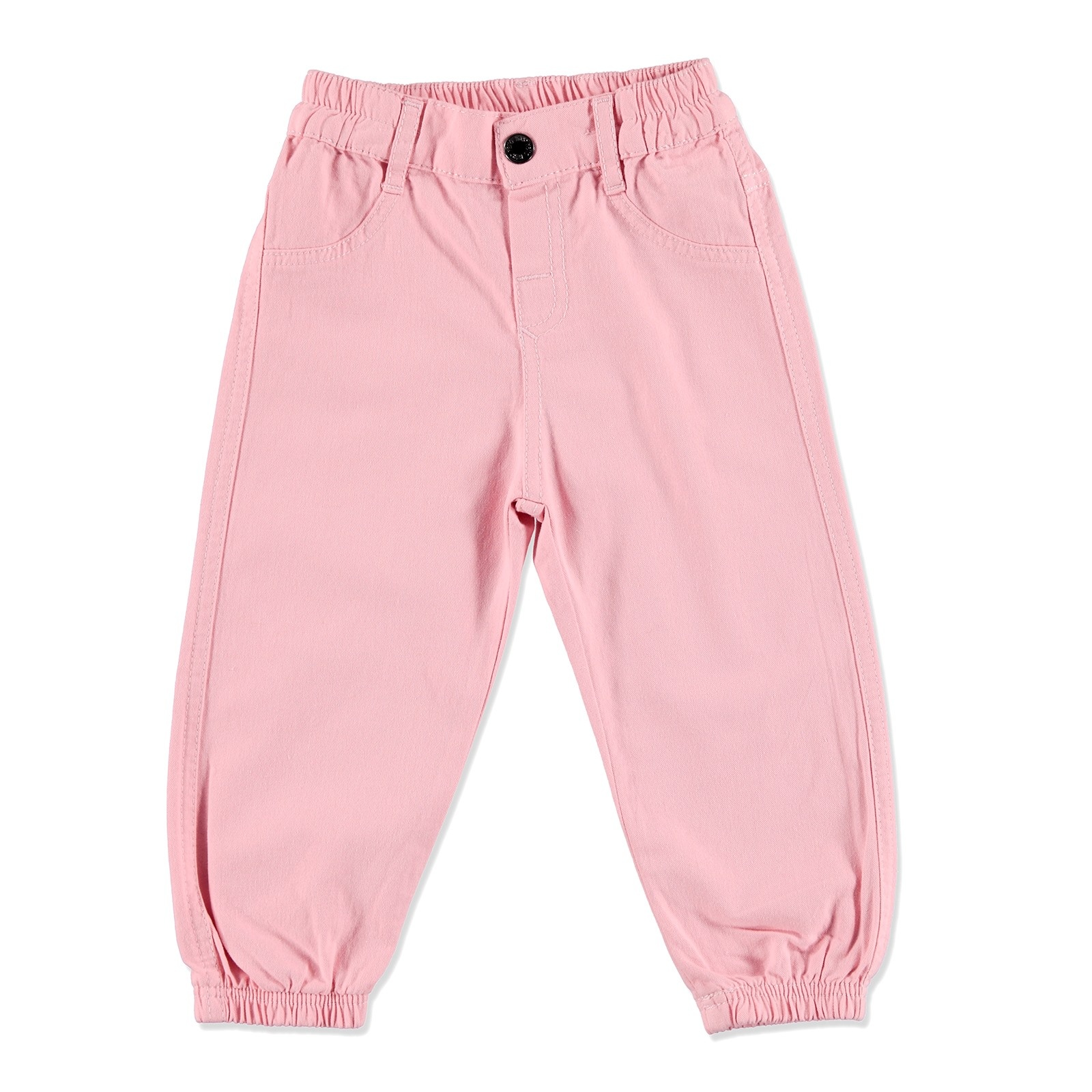 Ebebek HelloBaby Summer Baby Girl Cotton Pant