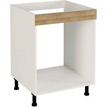 Mueble cocina bajo de 60cm para horno varios colores