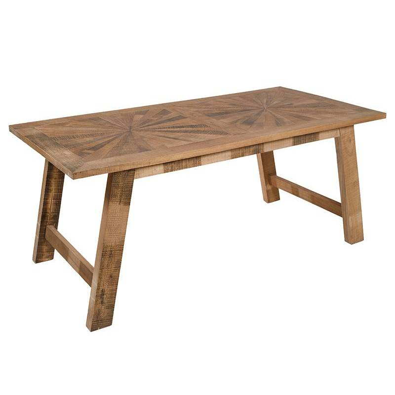 Dining Table (180x90x78 Cm) Wood Mindi