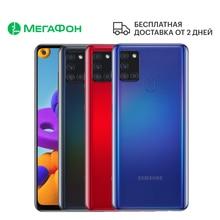 Смартфон Samsung Galaxy A21s 3/32GB [Ростест, доставка от 2 дней, новый, SIM любых операторов, официальная гарантия]