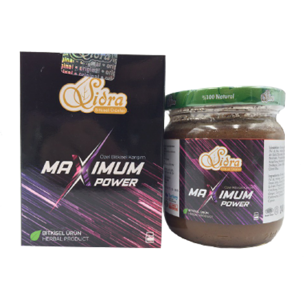 Sidra Maximum Power Epimedium Turkish Honey Mix – Turkish Paste, 240gr