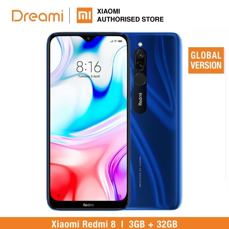 Global Version Redmi 8 32GB ROM 3GB RAM (LATEST ARRIVAL!) Redmi8 32gb Smartphone Mobile