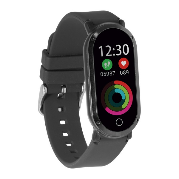 "Activity Bangle Fitness Band HR3 0 96"" TFT Bluetooth Black