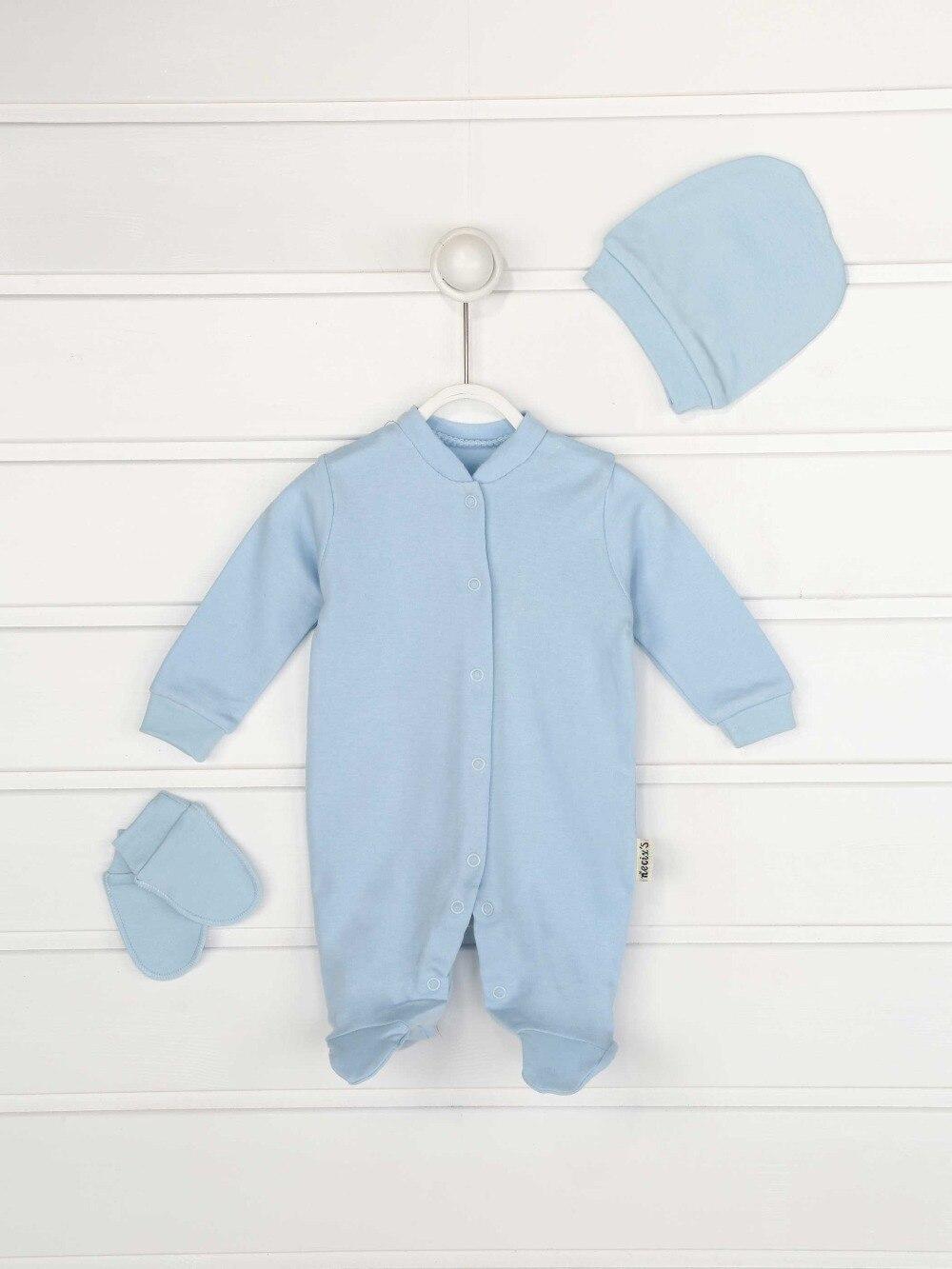 045-2154-015 Mavi Erkek Bebek 3 lü Tulum (1)