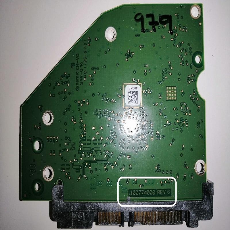 Seagate Barracuda ST500DM009 Compute 2F110A-500 CC43 100774000 REV C PCB Board