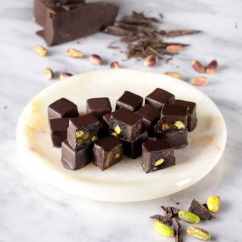 Double Roasted Pistachio Chocolate Covered Turkish Delight 350 g недорого