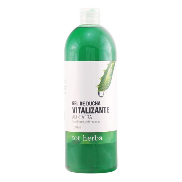 Shower Gel Vitalizante Aloe Vera Tot Herba (1000 Ml)