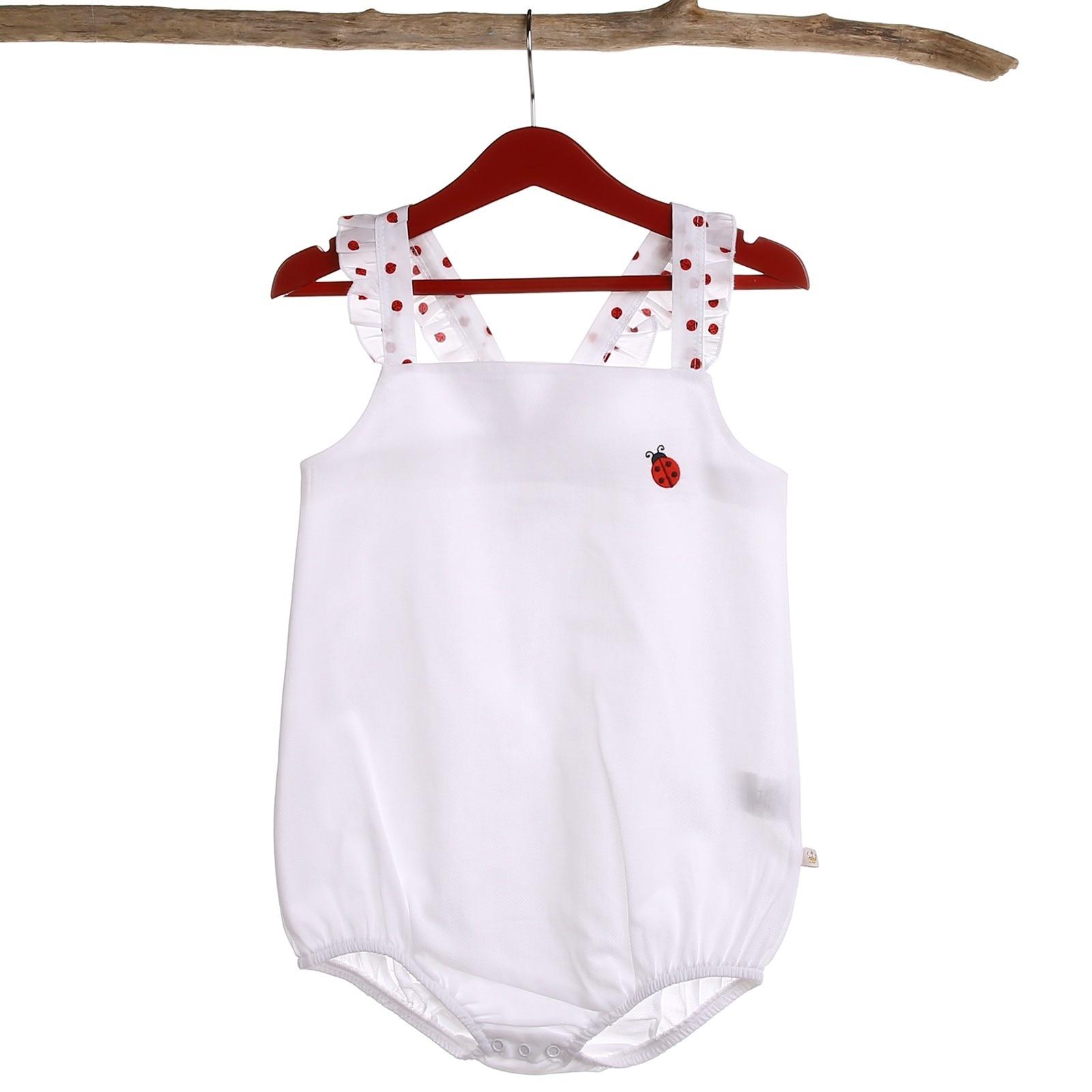 Ebebek For My Baby Girl Lady Texture Ruffled Bodysuit