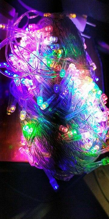 Fios de LED Decoração Casamento Ac220v