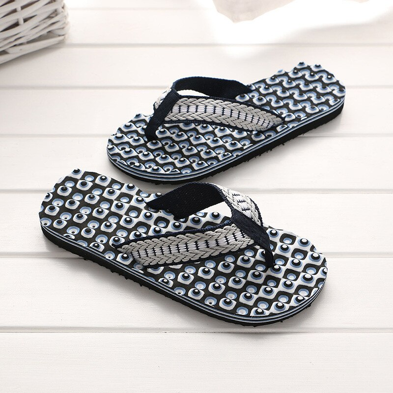 Men Summer Comfortable Massage Flip Flops Shoes Sandals Male Slipper Indoor & Outdoor Flip-flops New Summer Shoes Slippers