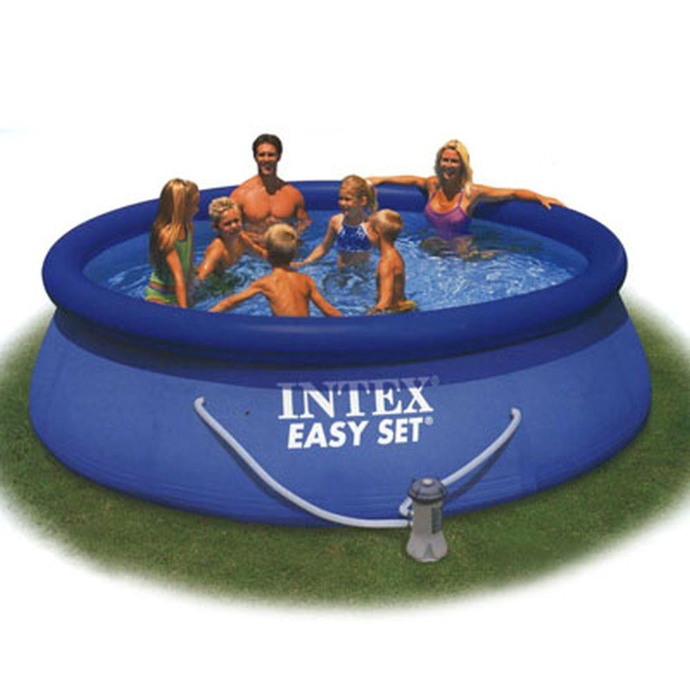 Intex Swimming Pool Inflatable Easy Set 305x76 Cm 3853л