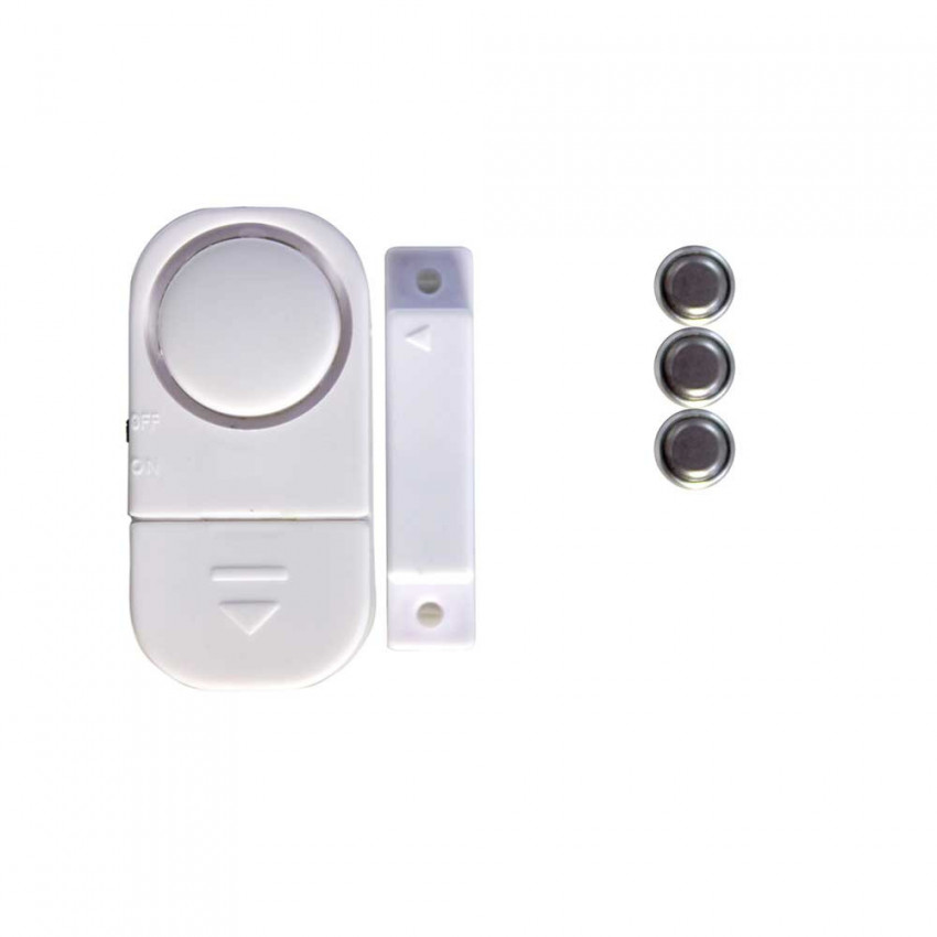 Pack 4 Alarms For Door And Window With Batteries 12xLR44 1,5V