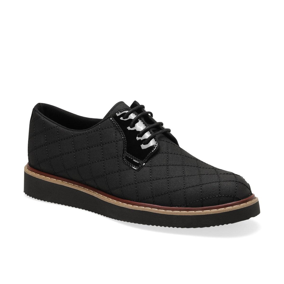 FLO 3321 Black Men Dress Shoes-Styles