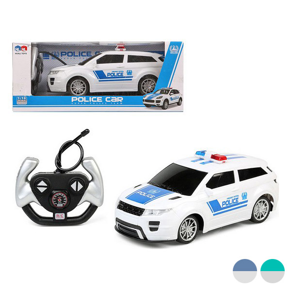 Remote-Controlled Car Police