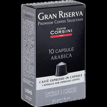 Кофе в капсулах Nespresso® Caffe Corsini Arabica 52г (10 х 5.2г)