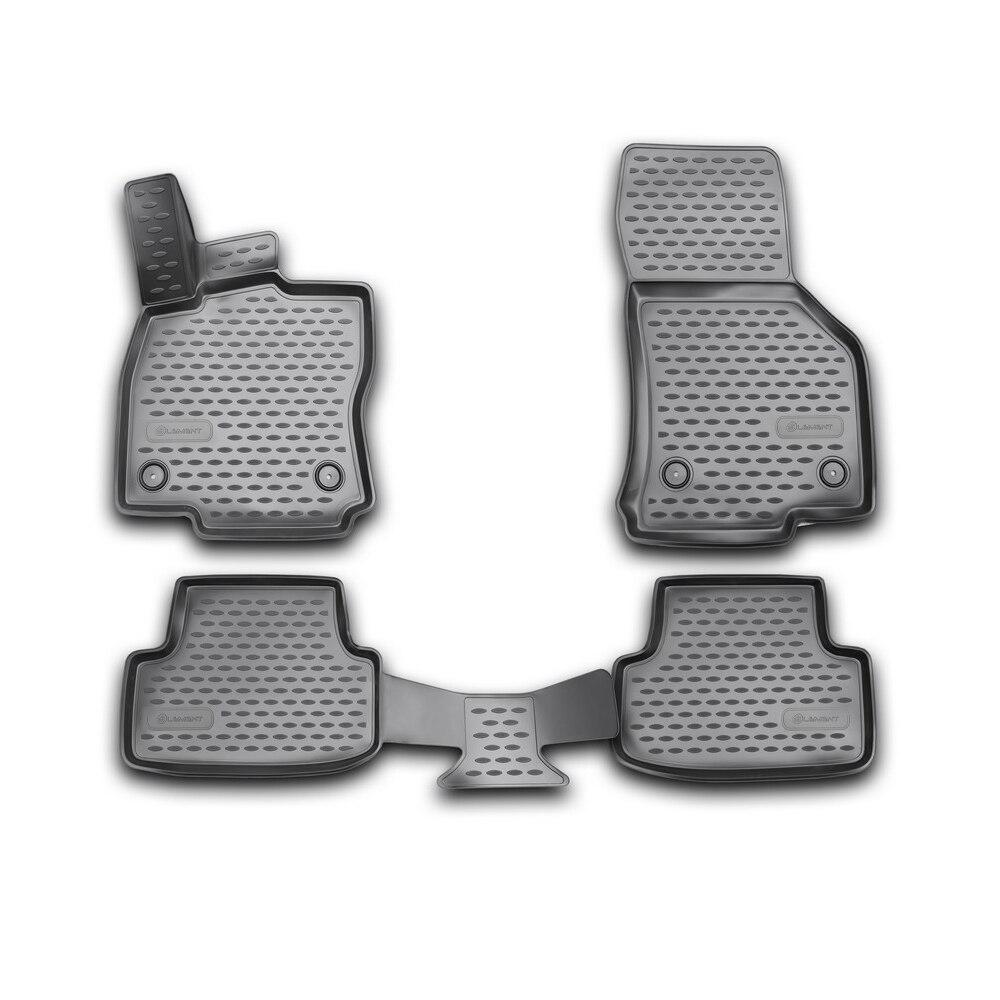 3D Mats In The Salon For VW Golf VII 2013-4 PCs NLC.3D. 51.44.210k