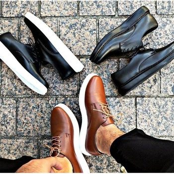 Chekich Casual Fashionable Men 'S the Trend of Shoes 2020 Casual Light Faux Leather Japanned Leather Black White Men 'S Shoes 39-44 Size men 39 s shoes men oxford vulcanize shoes korean men s shoes canvas shoes wild men s casual trend high top to help tides shoes