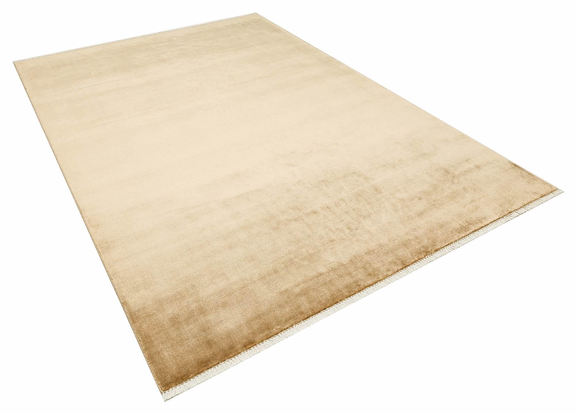 Apex Classy 4 'x 6' Wool Beige Area Rug