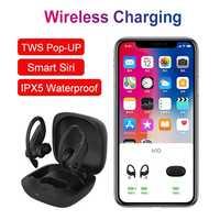 EARDOTS B10 TWS Wireless Bluetooth Earphone Sports Headset earbuds Waterproof headphones with Wireless Charging Box PK I9000 TWS
