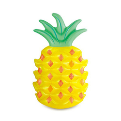 Mat Inflatable shaped Pineapple 115829 toy play for Beach and Swimming Pool