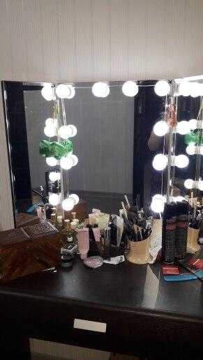 -- Espelho Vaidade Lâmpadas