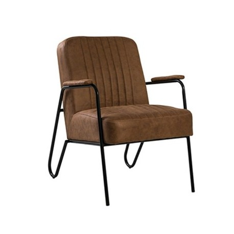 Upholstered Armchair Cloth Mirage